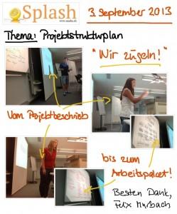 3.09.2013 Splash - Projektstrukturplan