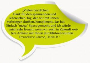 Testimonial Daniel B.