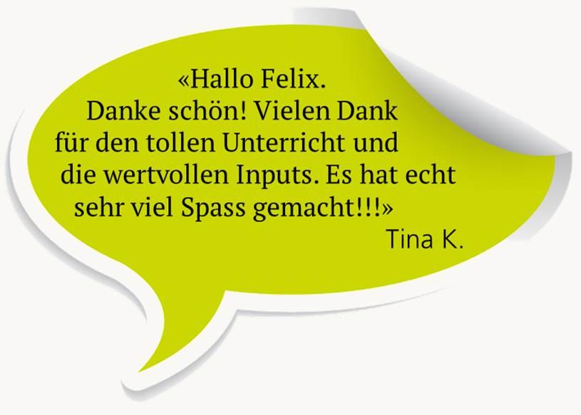 Testimonial Tina K.